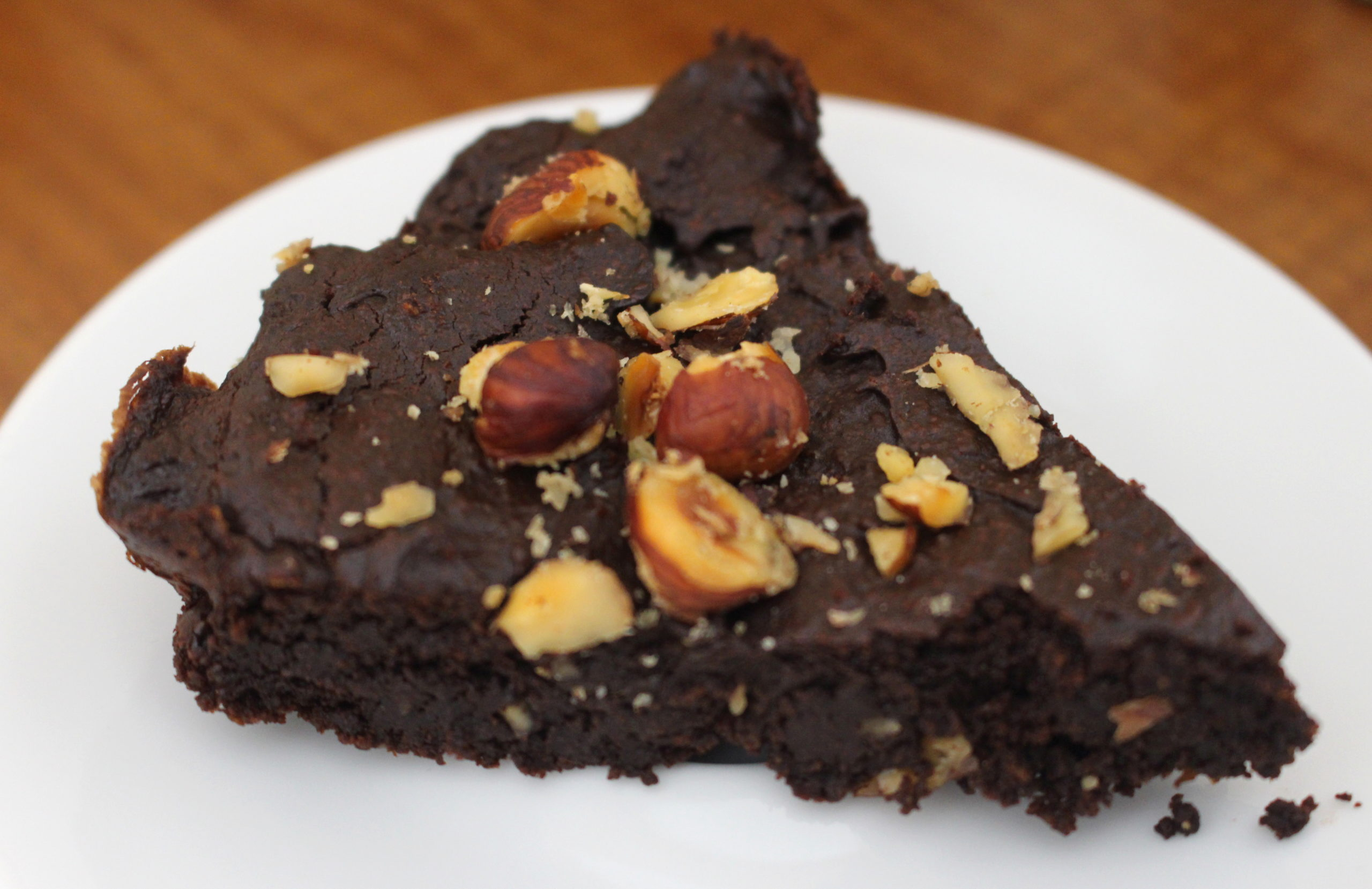 brownie à l'avocat sans gluten sans lait