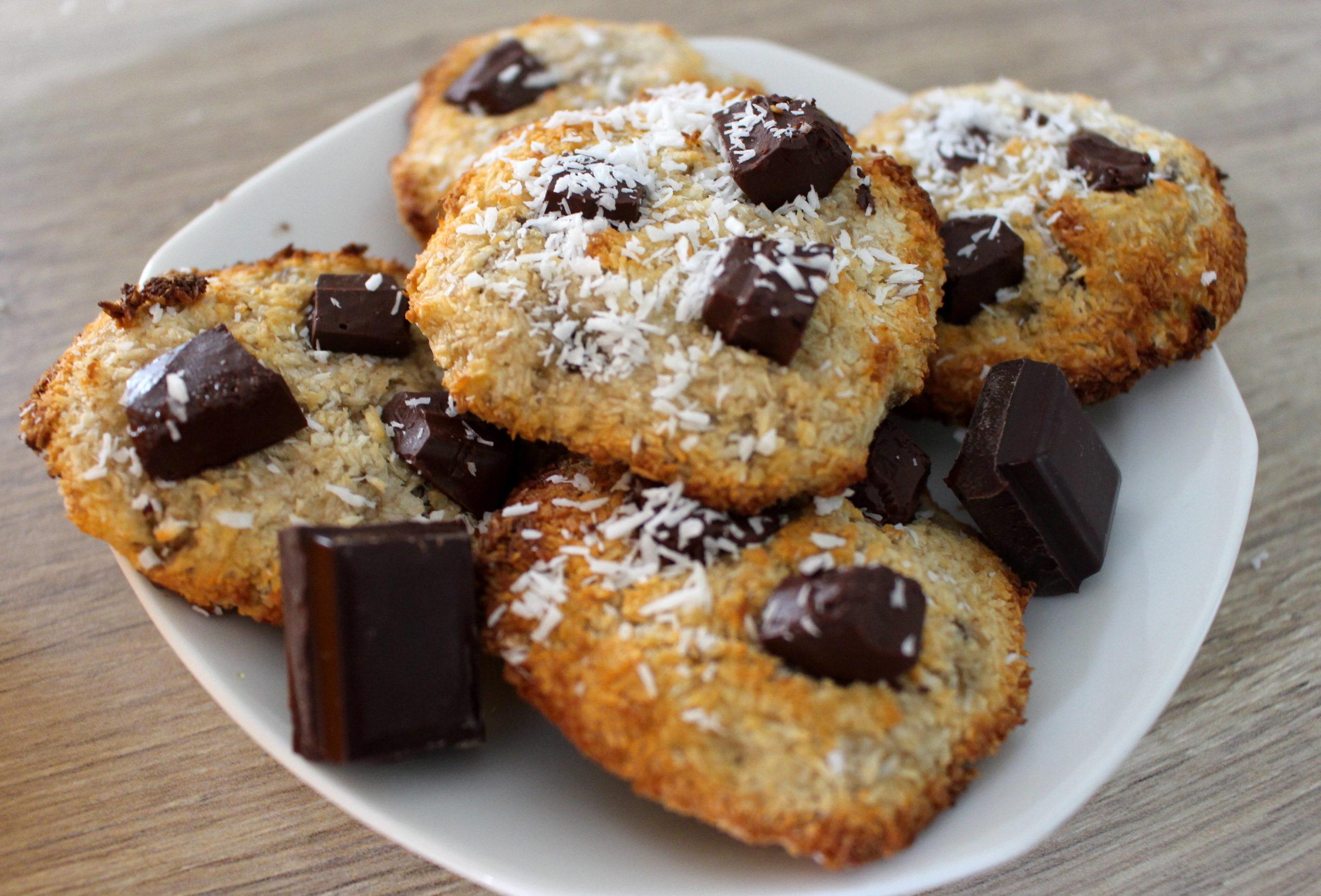 cookies banane coco