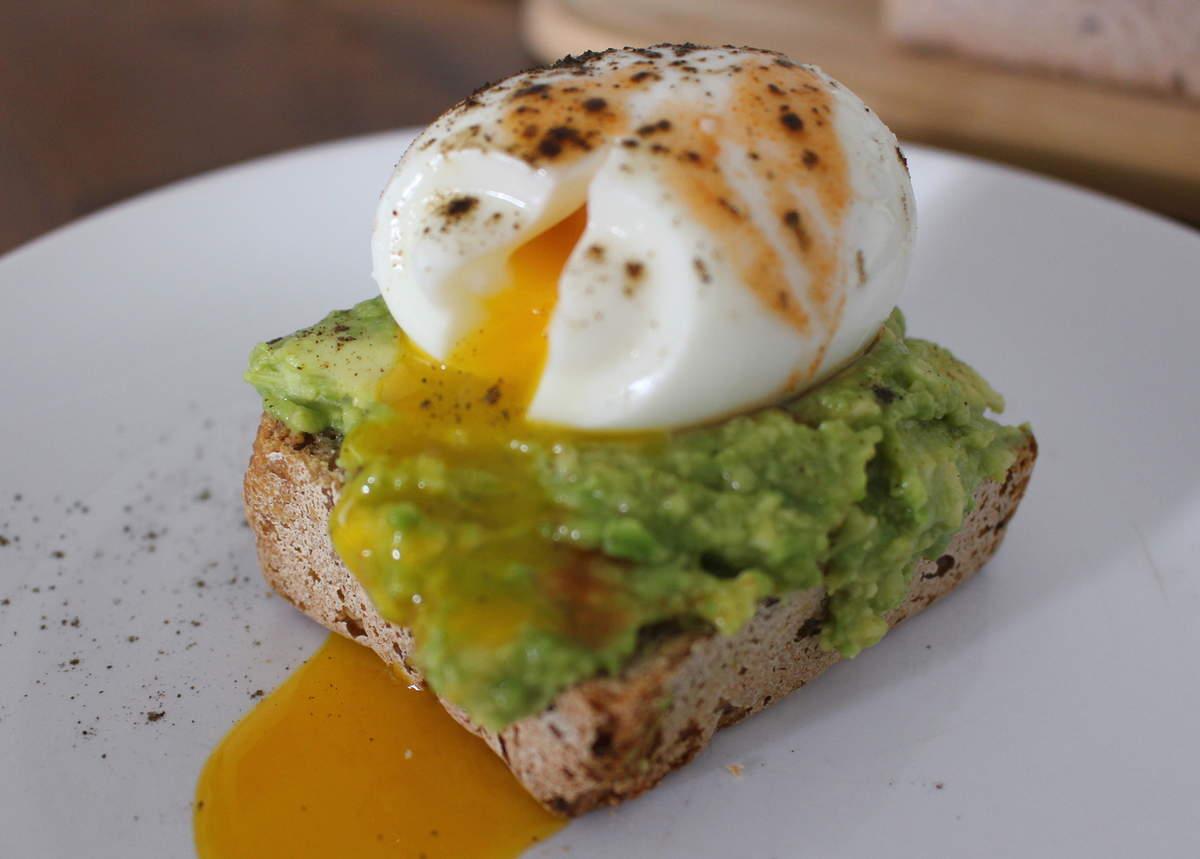 avocado toast sans gluten