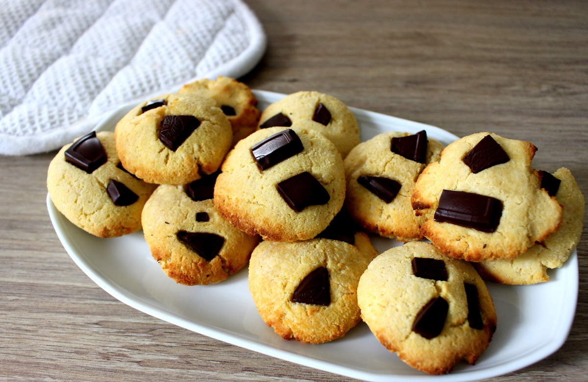 cookies à la poudre d'amande et à la farine de coco sans gluten sans lait