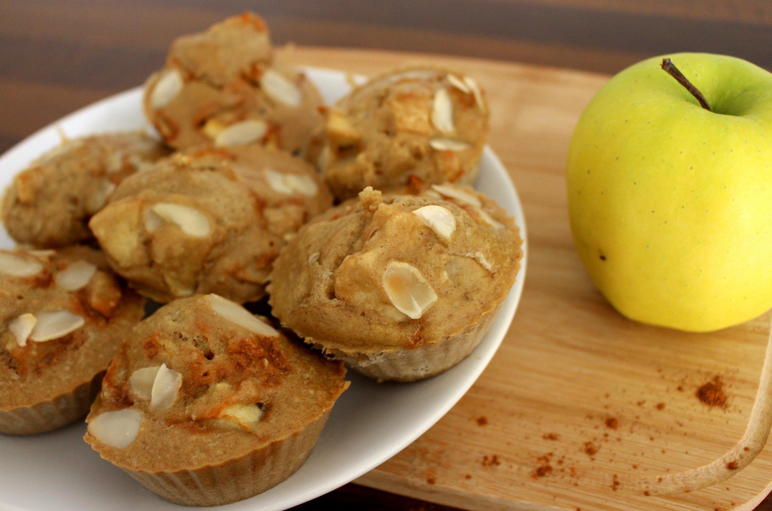 muffins pomme cannelle sans gluten sans lait