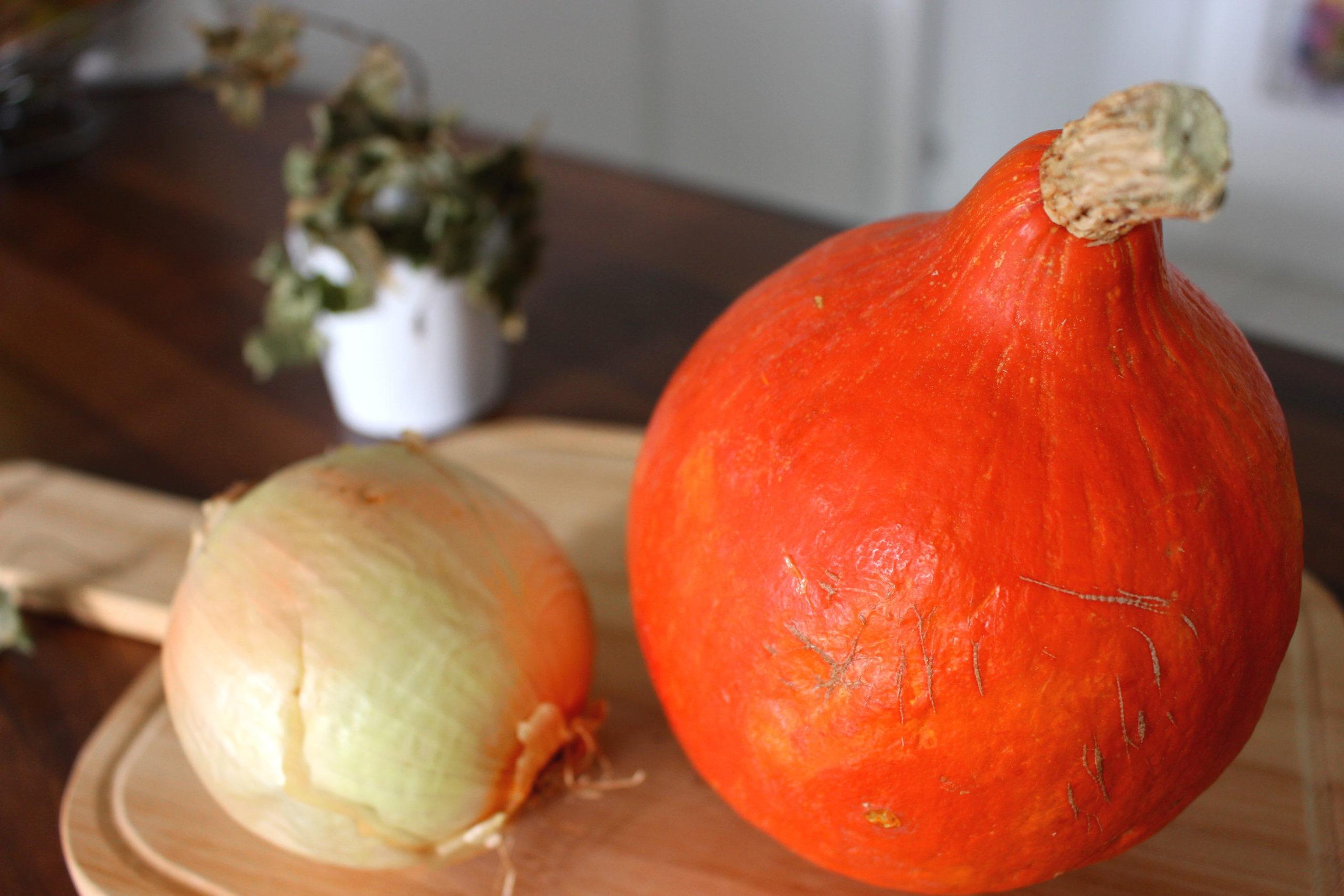 recette de velouté de potimarron sans gluten sans lait