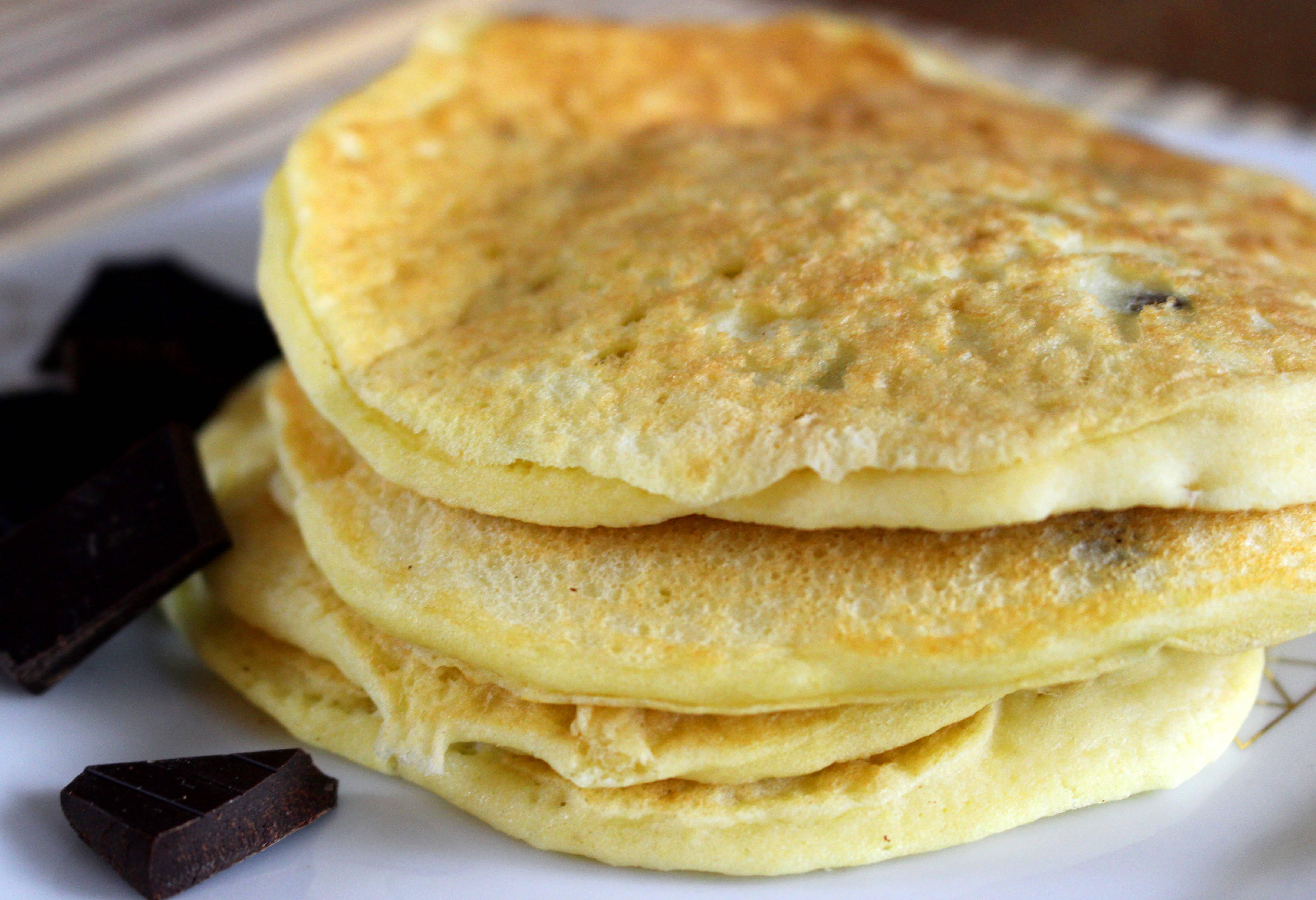 pancakes sans gluten sans lait