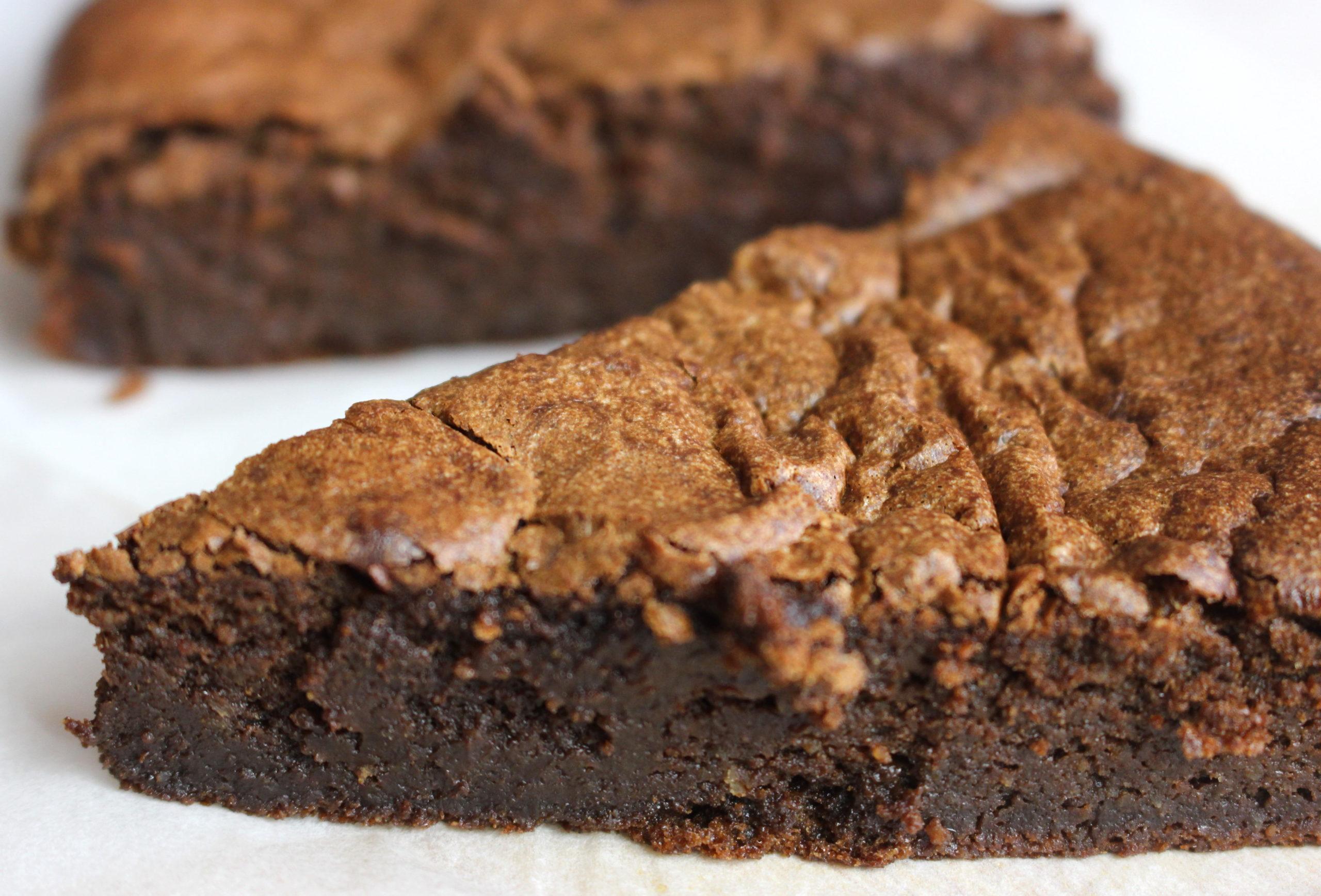 gâteau au chocolat sans gluten sans lait
