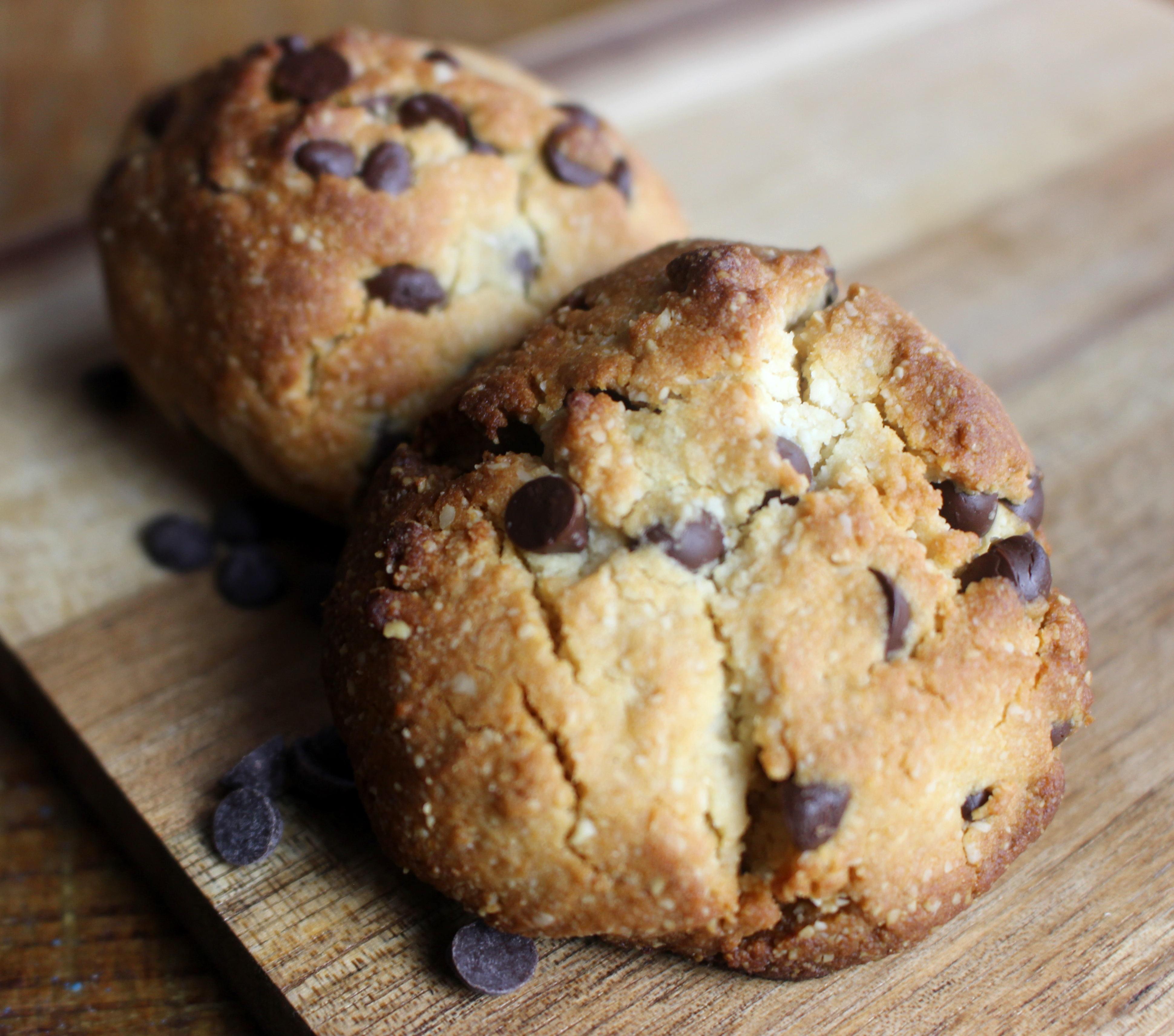 cookies sans gluten sans lait à la fleur de sel