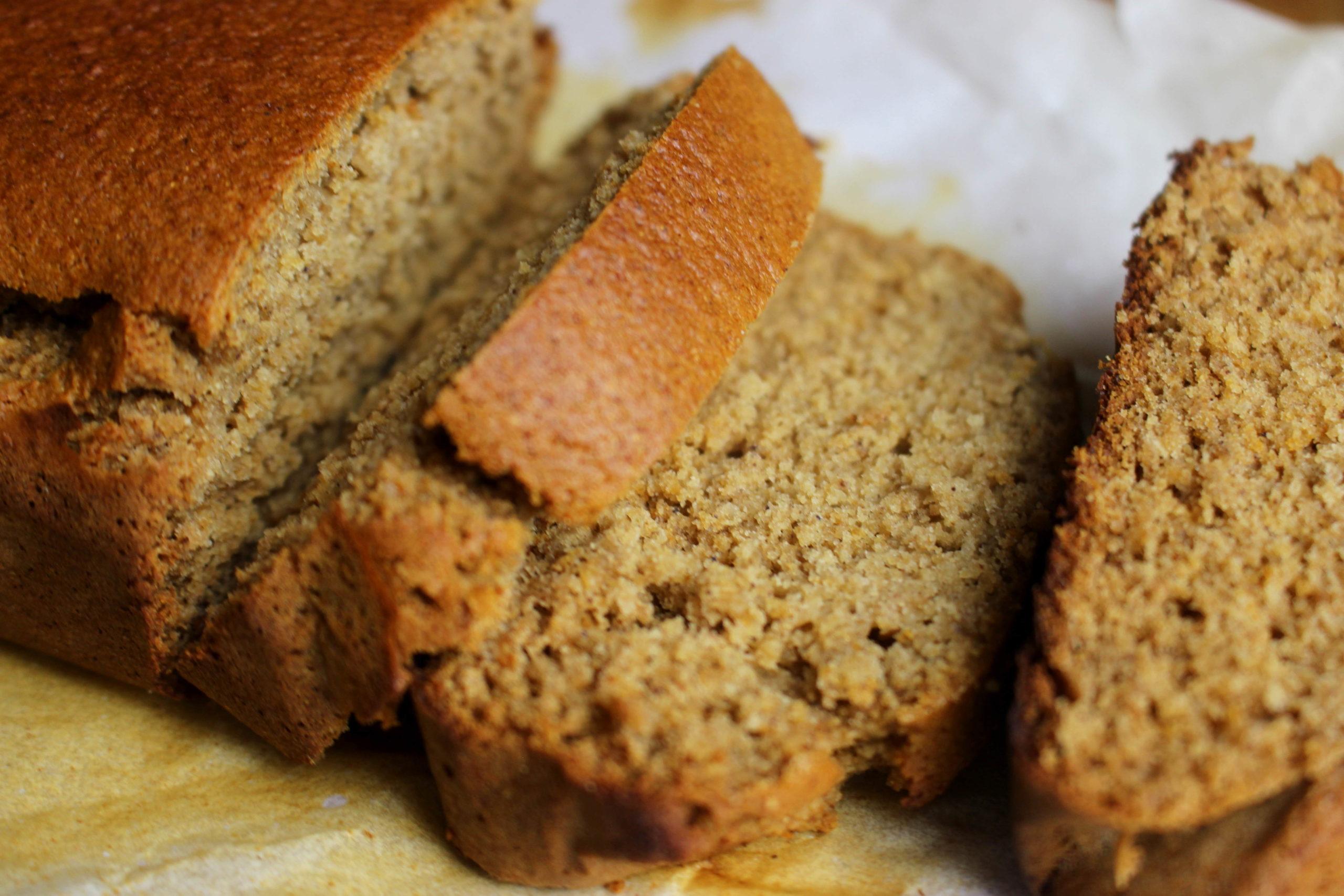 pain d'épice sans gluten sans lait
