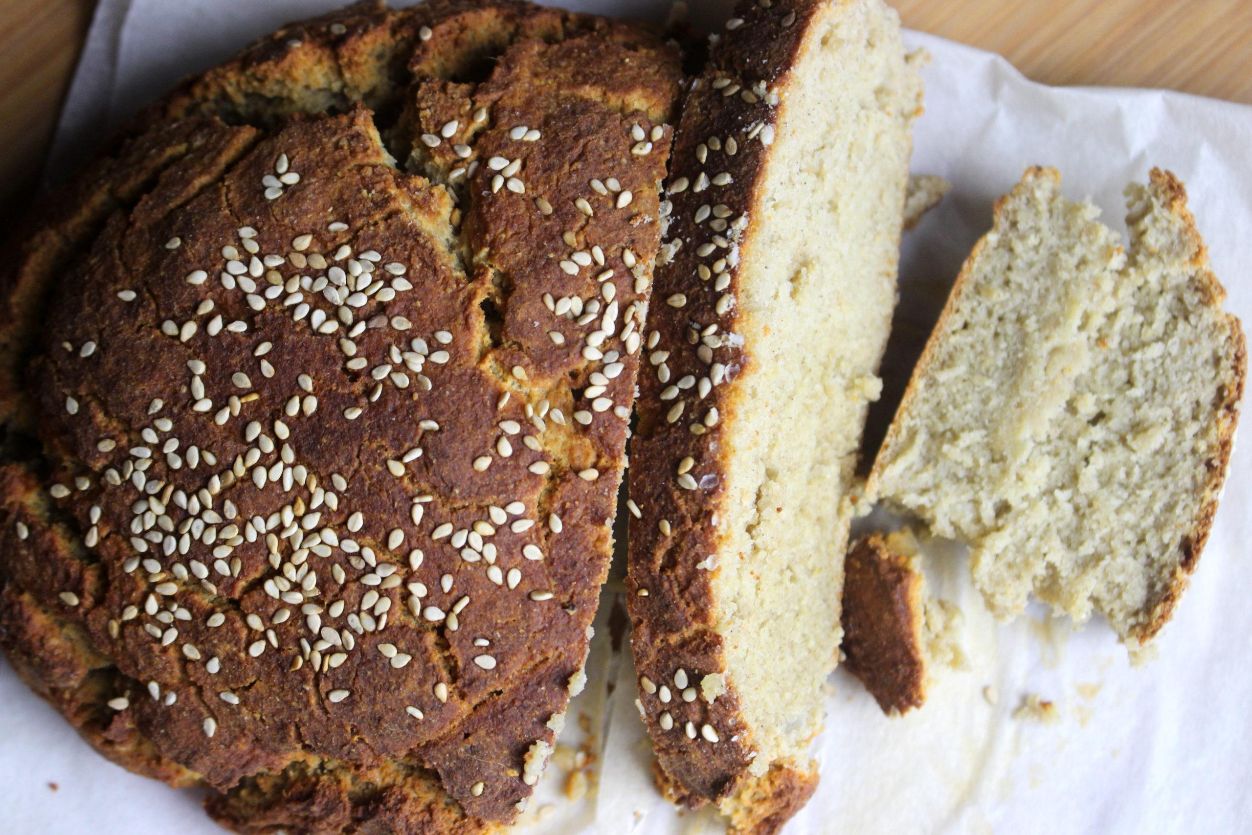 pain à la farine de riz et farine de soja sans gluten