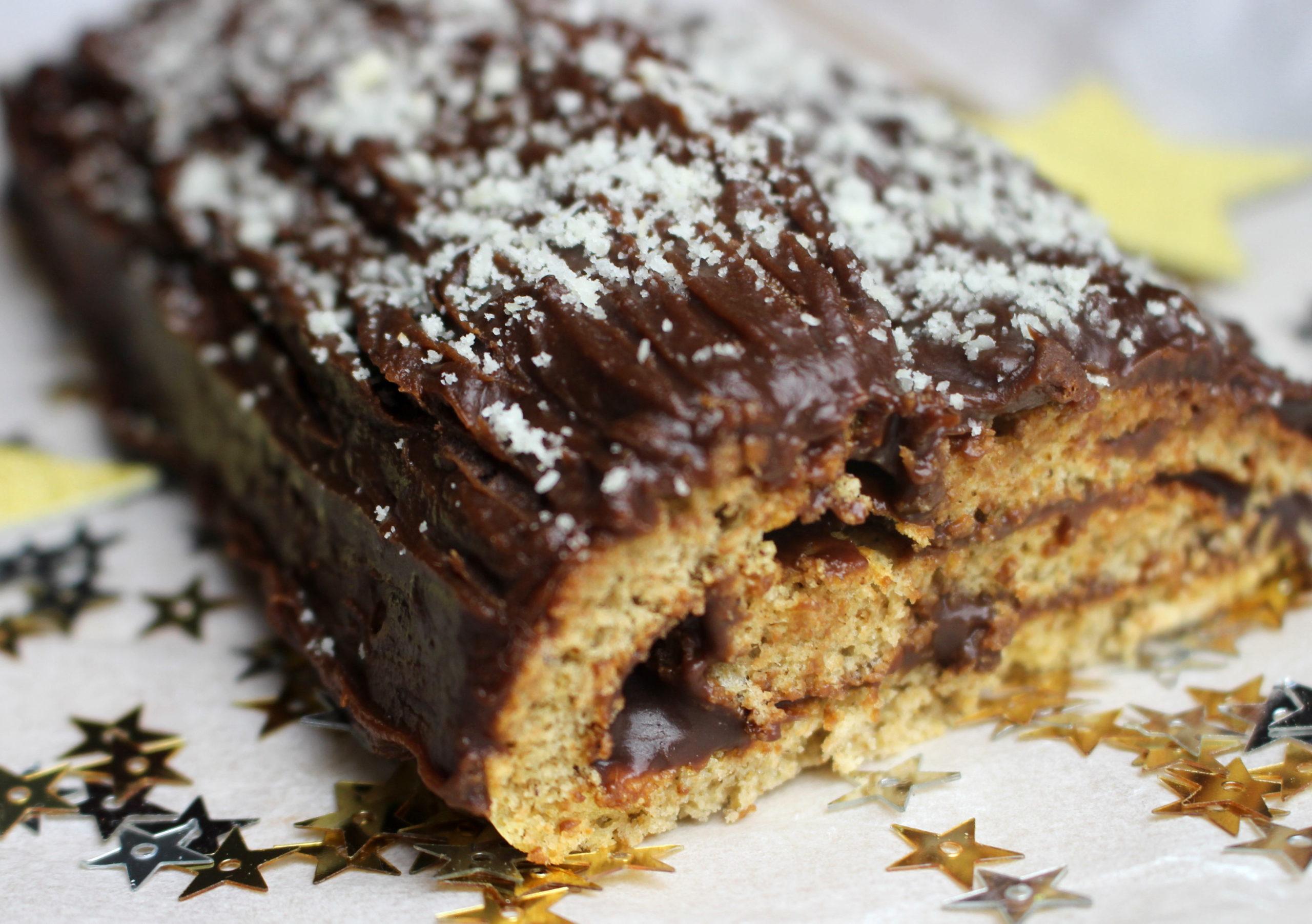 buche chataigne chocolat sans gluten sans lait