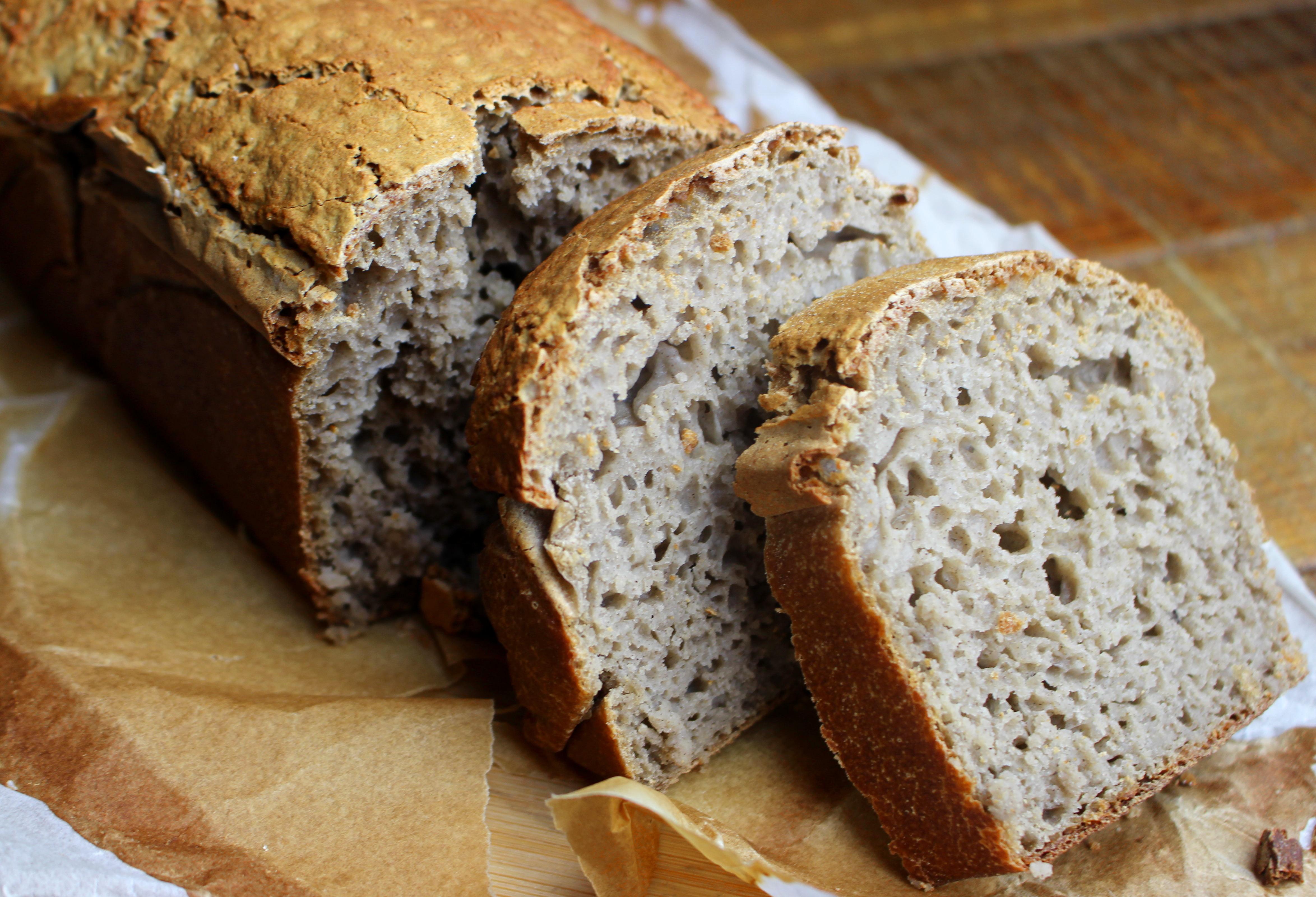 recette de pain sans gluten au riz et au sarrasin