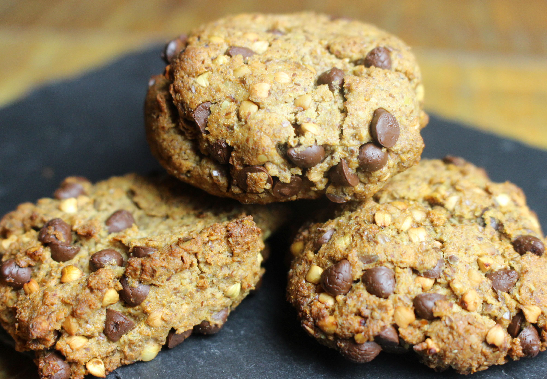 cookies aux graines de lin et au kasha