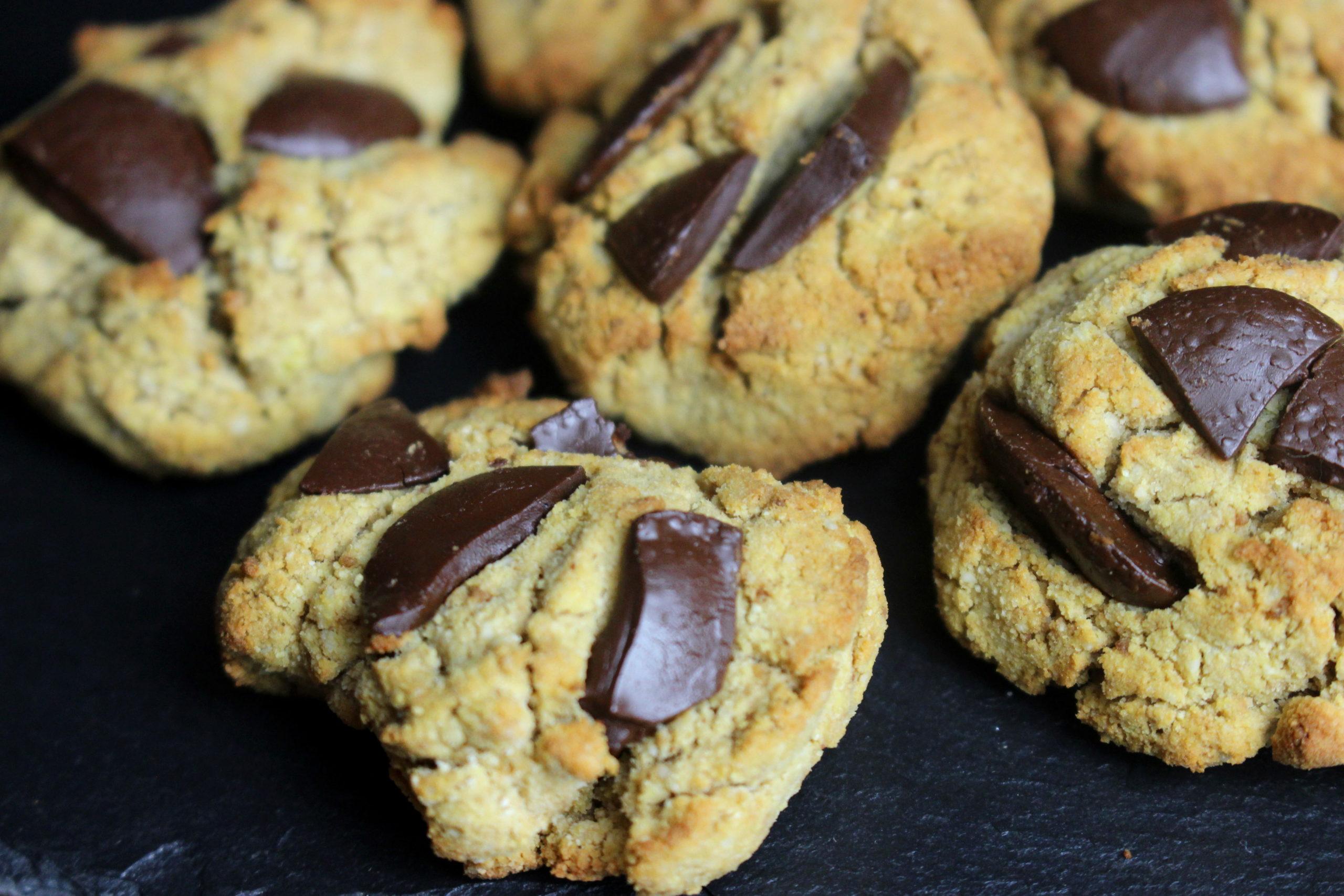 minis cookies sans gluten et sans lait