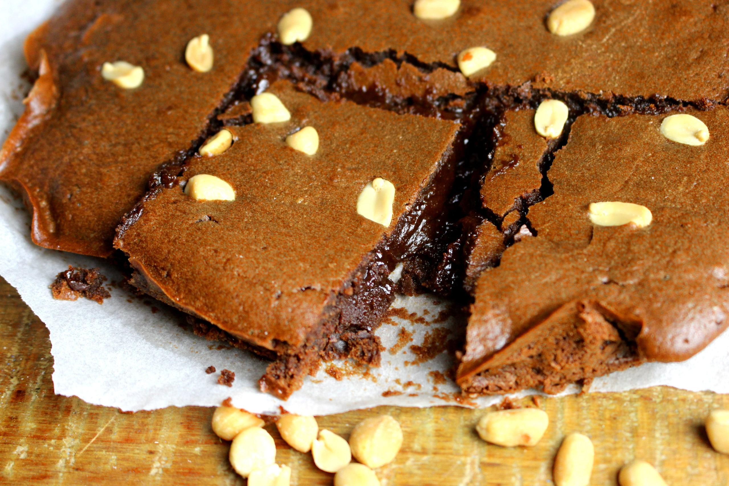 gateau chocolat cacahuète