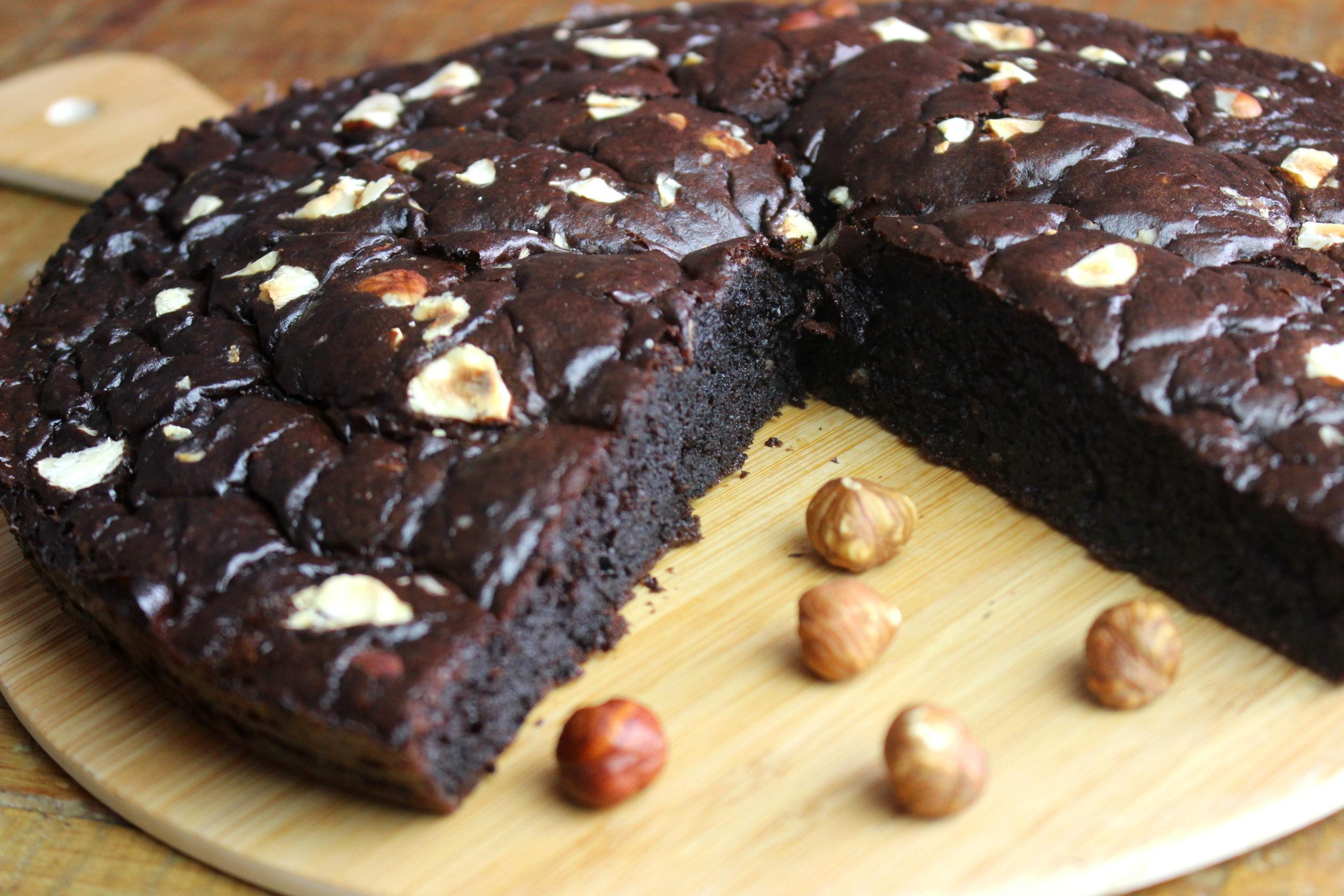 gâteau paléo choco noisette