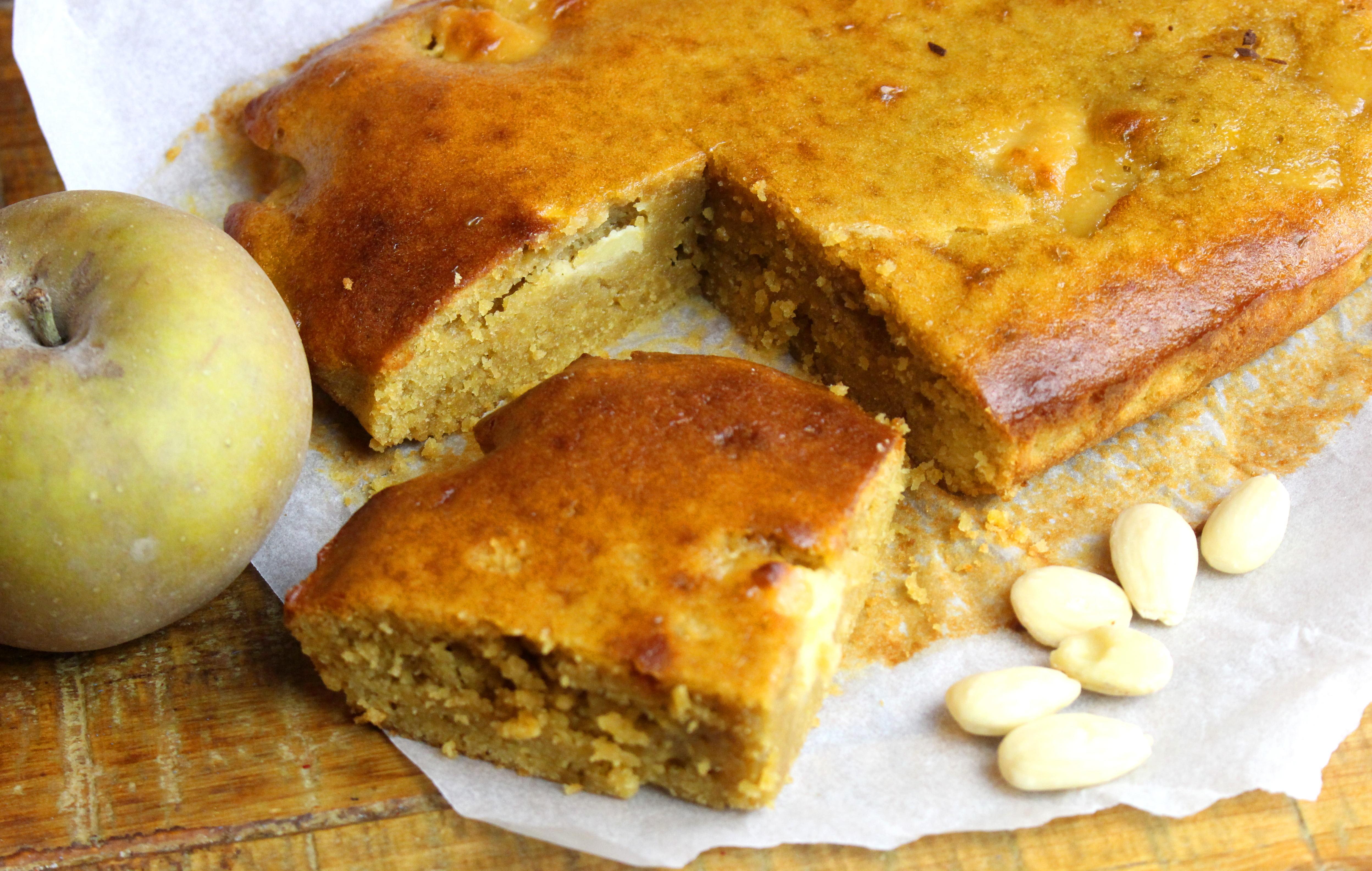 gâteau pomme amande sans gluten sans lait