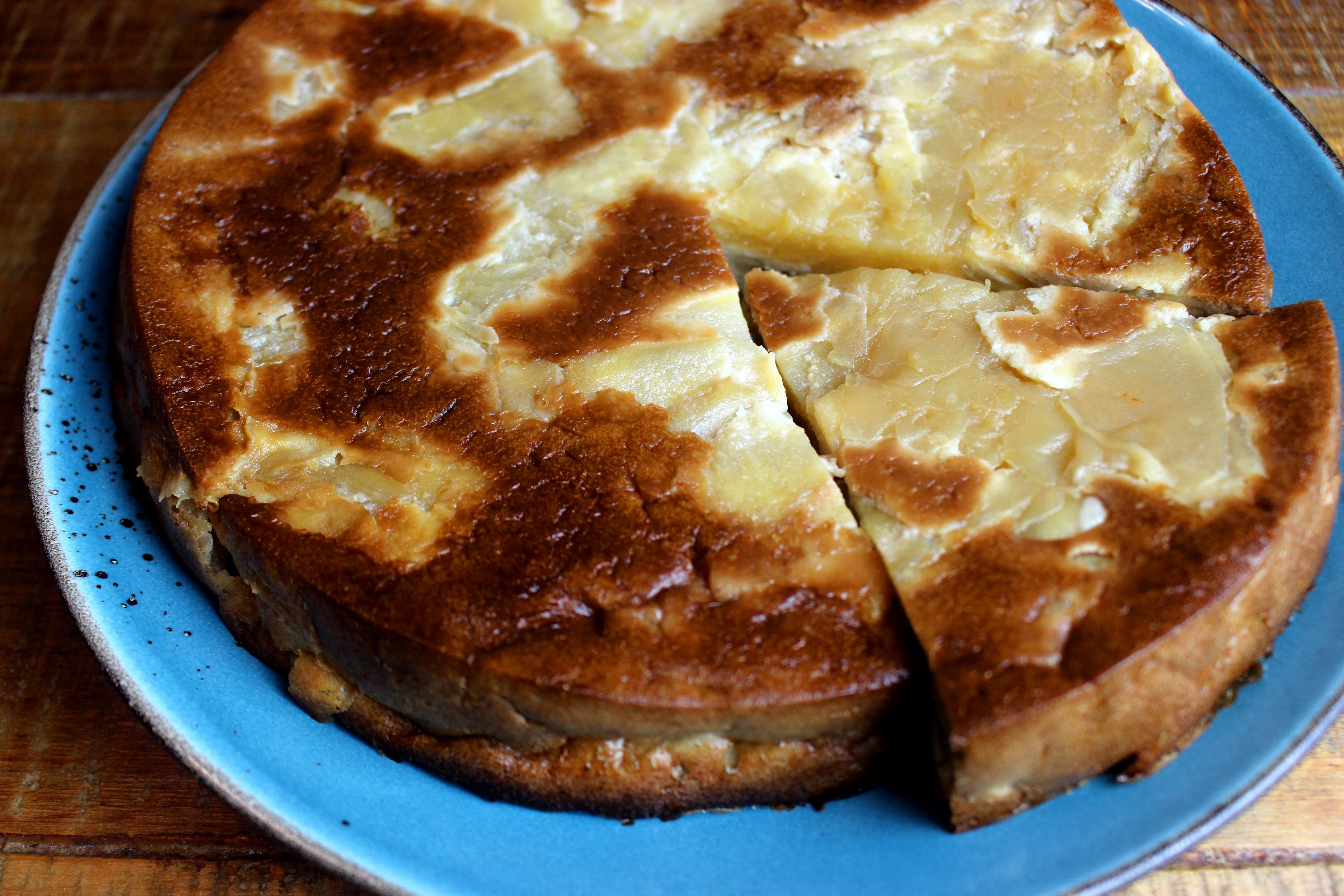 gâteau invisible pomme poire sans gluten sans lait