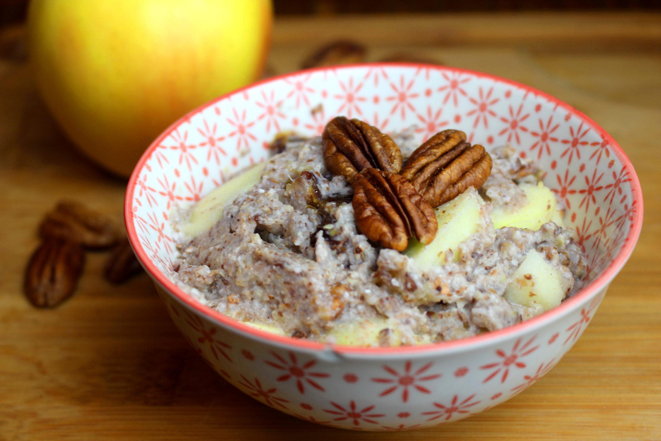 porridge sans gluten sans lait paléo