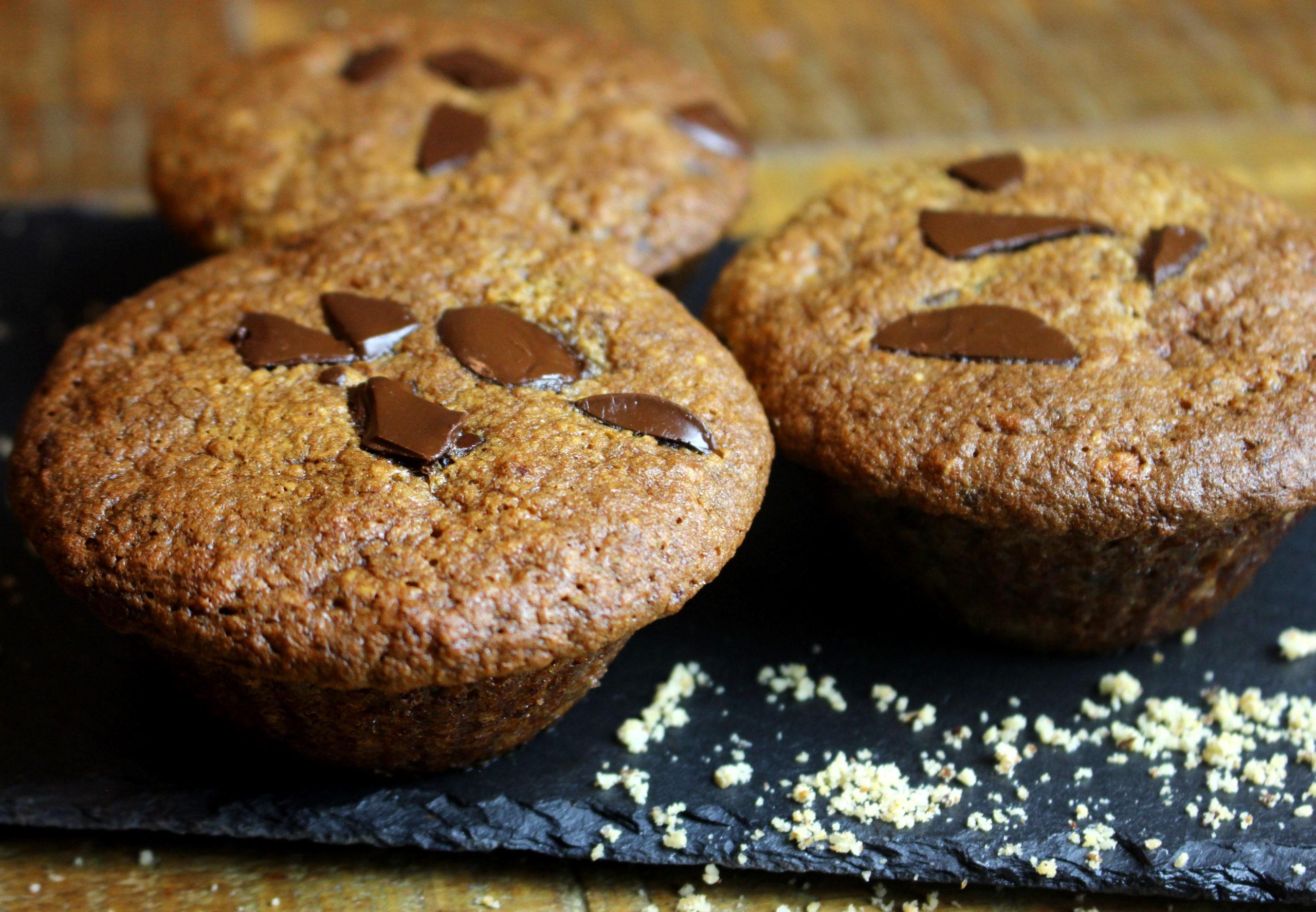 muffins banane noisette sans gluten sans lait paléo