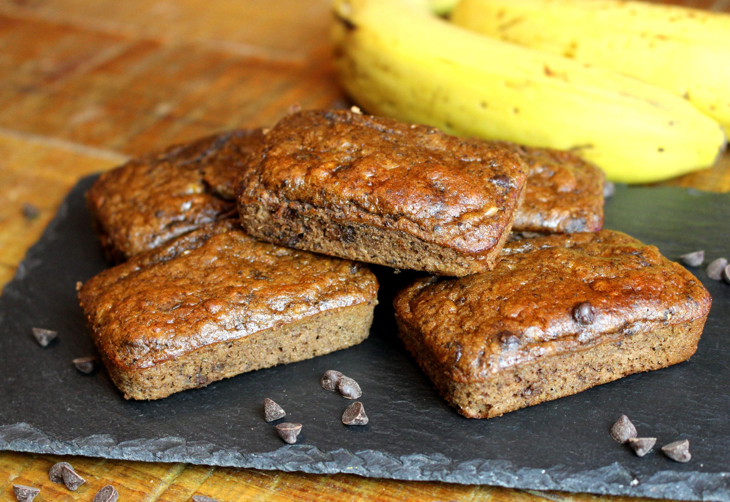 banana bread cacao sans gluten sans lait