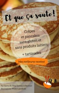 ebook de recettes de crêpes pancakes sans gluten sans lait