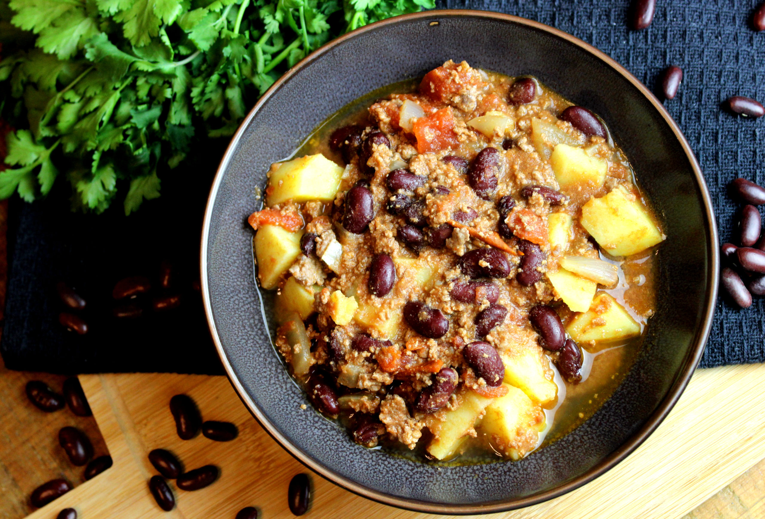chili pommes de terre
