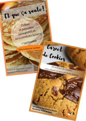 packs de ebooks de recettes saines et gourmandes