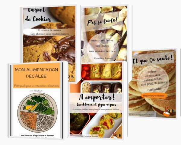 pack de ebooks sains et gourmands