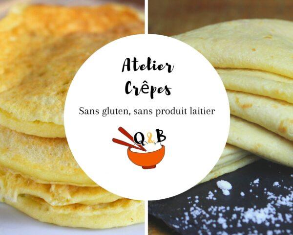 atelier en ligne crêpes pancakes sans gluten