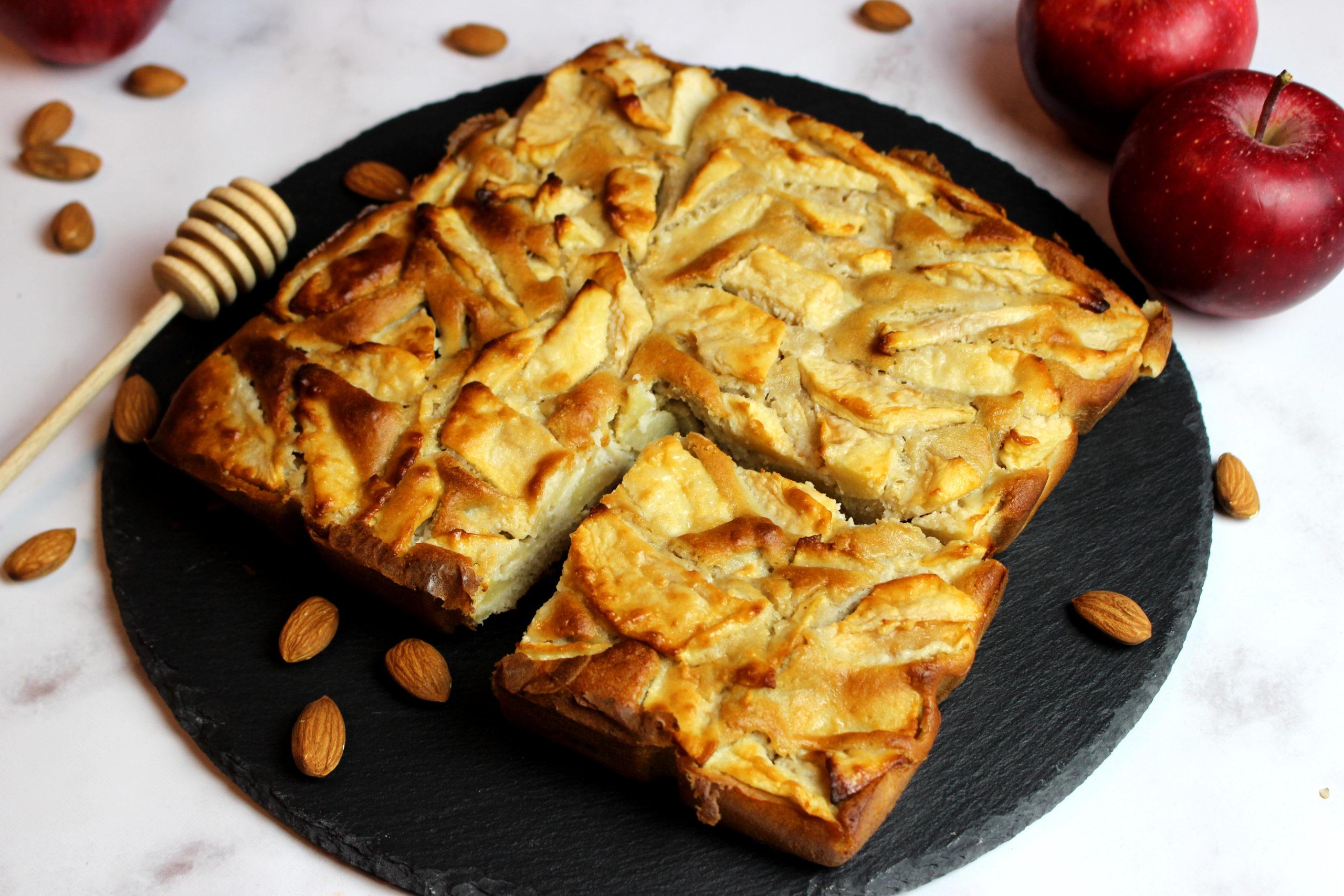 gâteau pomme miel sans gluten sans lait