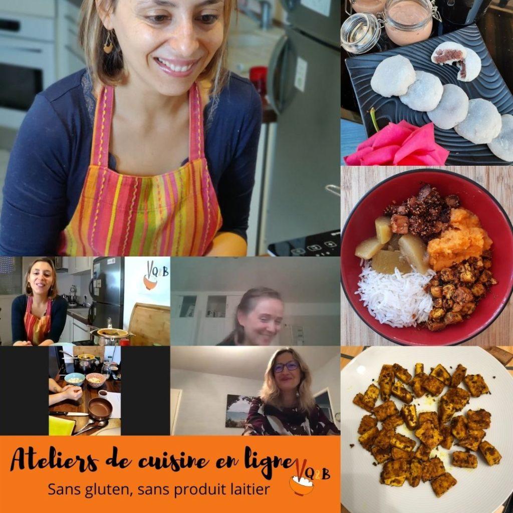 atelier de cuisine en ligne