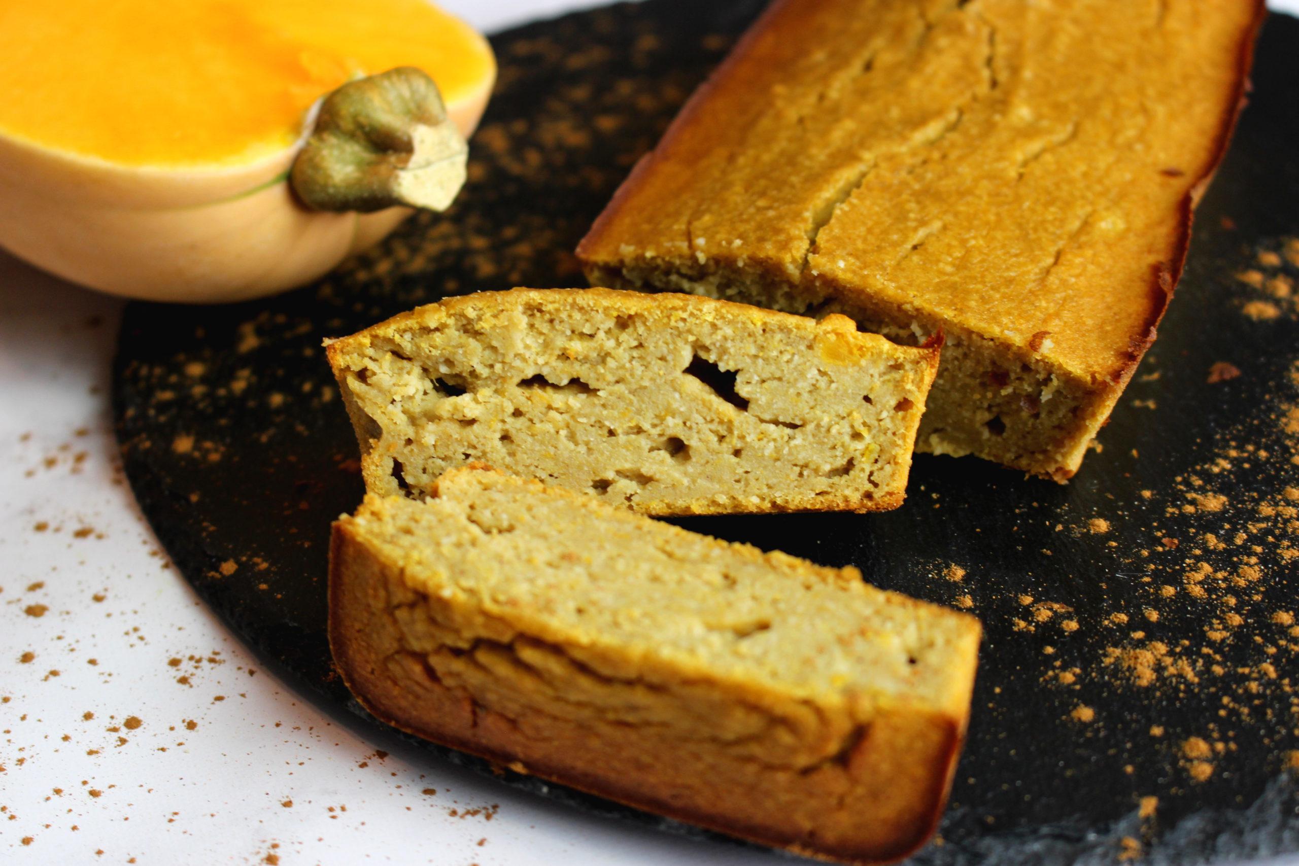 cake butternut cannelle sans gluten sans lait