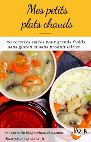 ebook de recettes de plats chaud sans gluten et sans lait