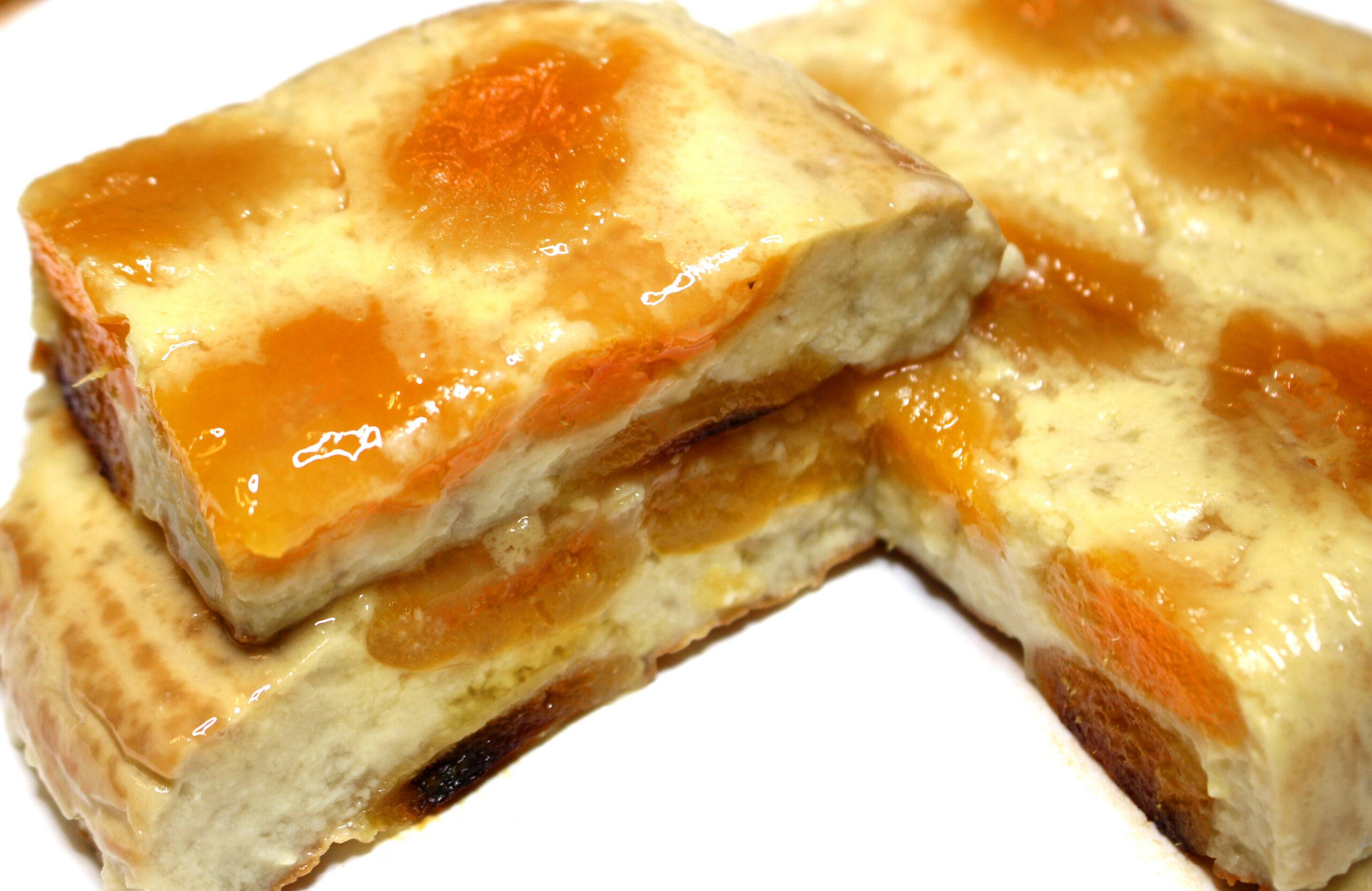 flan aux abricots secsans gluten sans lait sans lactose