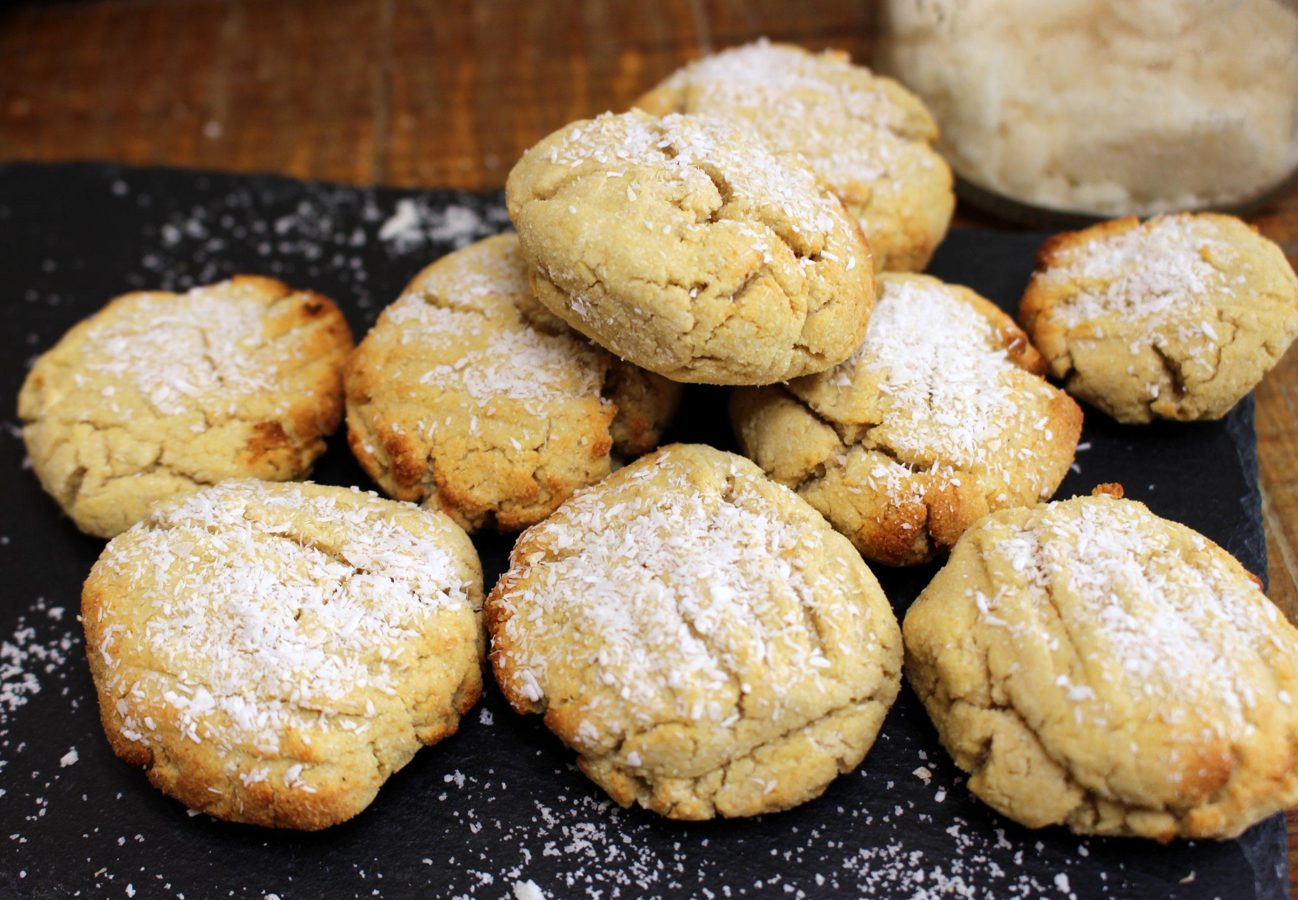 biscuits coco amande sans gluten sans lait