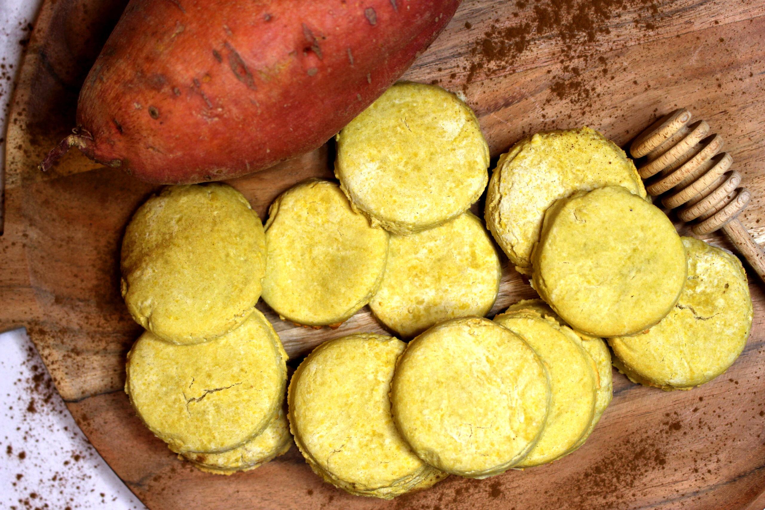 sablés à la farine de patate douce quinoa et basmati